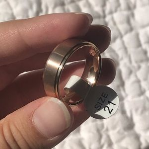 Other - Men's rose gold ring size 11